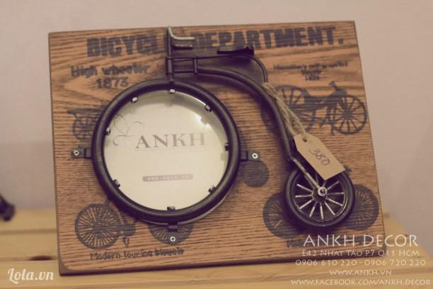 Khung hình xe đạp cổ điển