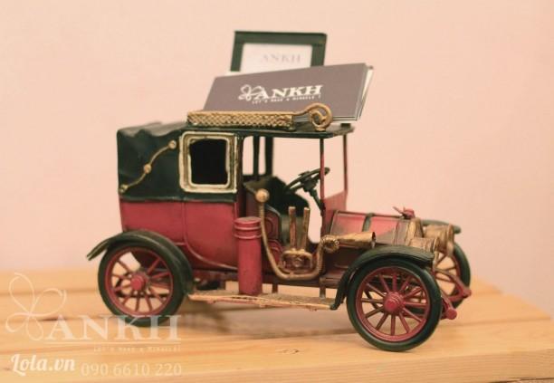 Mô hình xe cổ để name card + khung hình