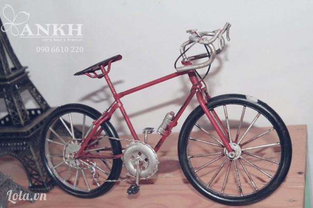 Mô hình xe đạp touring vintage
