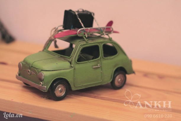 Mô hình xe Mr.bean handmade