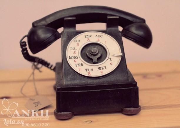 Mô hình điện thoại quay số cổ