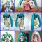 Mô hình giấy Miku - Vocaloid