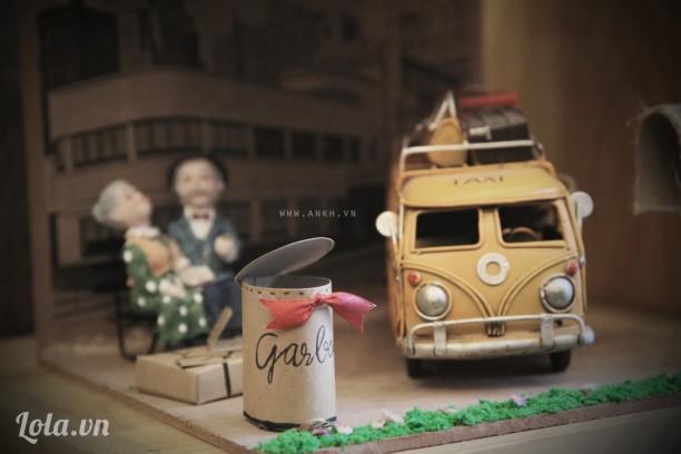 Mô hình 3D handmade - Welcome to Love Station