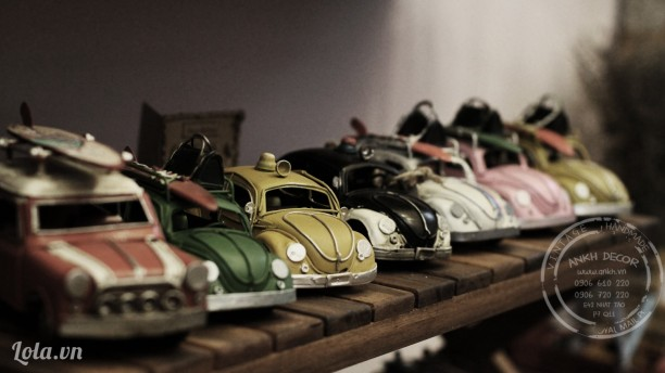 Mô hình xe Volkswagen cổ - để bàn