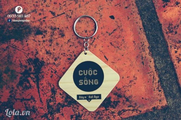 Móc khóa handmade mang thông điệp ý nghĩa - quà tặng nhóm, cty