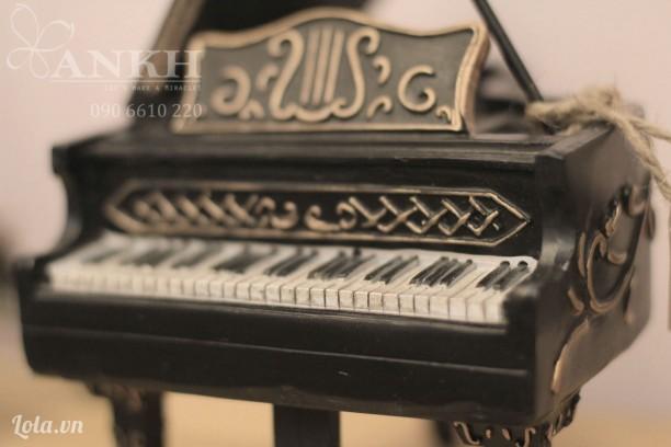 Mô hình Piano phong cách vintage