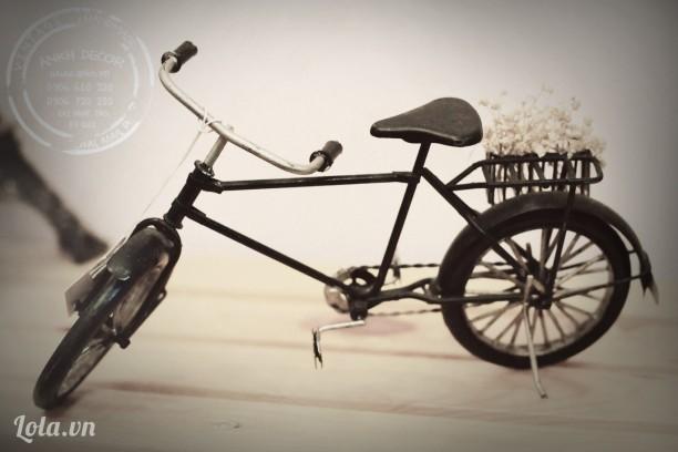 Mô hình xe đạp cổ handmade