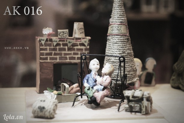 Set handmade for X'mas 2015