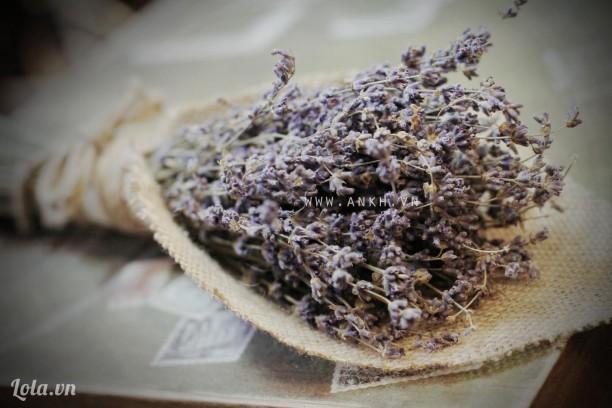 Bó hoa lavender theo phong cách cổ điển