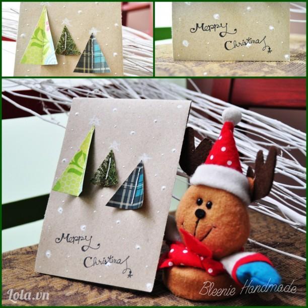 Thiệp Handmade Noel