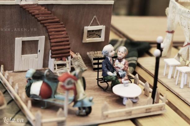 Quà handmade Christmas phong cách vintage