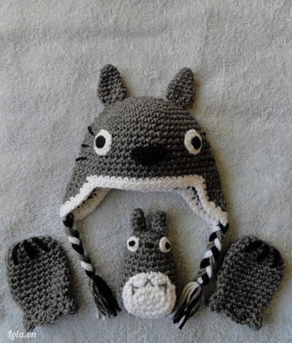Mũ len Totoro