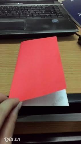 Gấp đôi tờ giấy