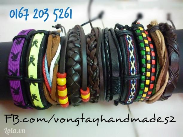 Vòng tay nam handmade