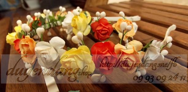 Cài hoa handmade