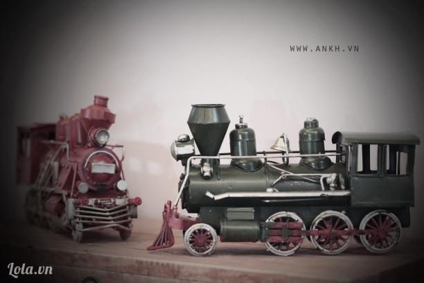 Mô hình xe lửa vintage