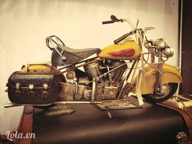 Mô hình xe mô tô vintage cực ngầu Handmade