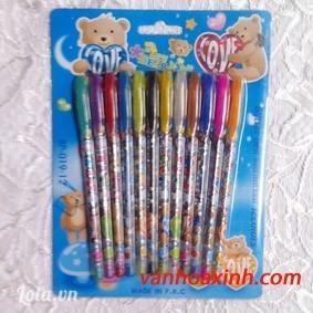 Bộ bút nhũ hương trái cây