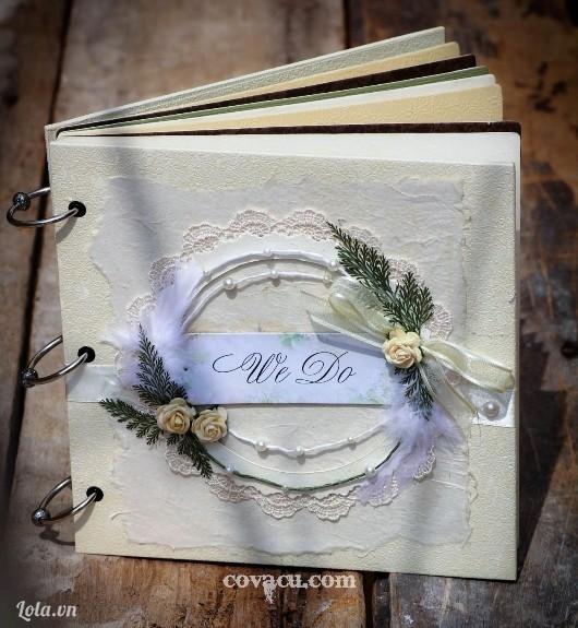Scrapbook quà tặng đám cưới độc đáo