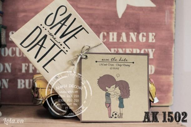 Thiệp mời , thiệp cưới sáng tạo và độc đáo