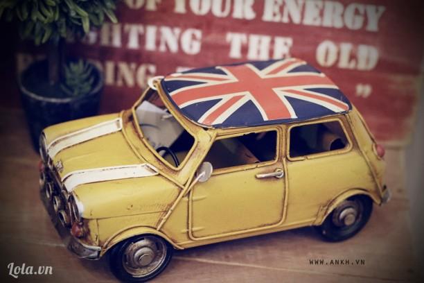 mô hình xe Mini Cooper handmade