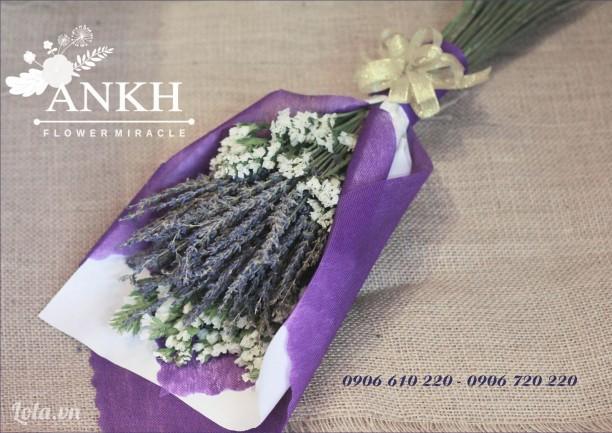 Bó hoa lavender đẹp tặng nàng