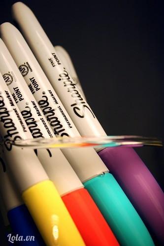 Chọn màu bút