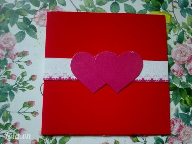 Thiệp mini handmade