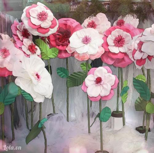 Hướng dẫn làm hoa hồng giấy