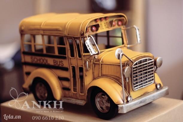 Xe mô hình handmade School Bus của Mỹ