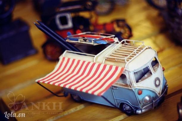 Bus Volk swagen picnic cắm viết và có khung hình