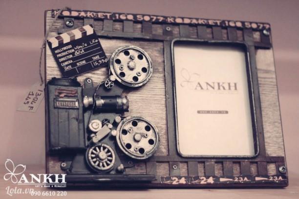 Khung hình 3D camera kodak handmade