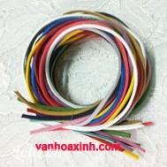 Lốc 12m dây da lộn 3mm 12 màu khác nhau (ngẫu nhiên) 20g DDB17-36