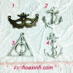 Mẫu đồng xi và bạc xì nhiều kiểu to làm vòng tay giả cổ