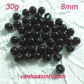 Đá đen làm vòng giá sỉ theo gram
