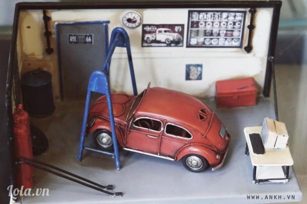 Mô hình garage xe hơi