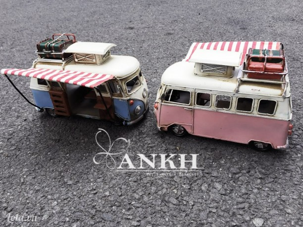 Mô hình xe bus Volkswagen cổ điển