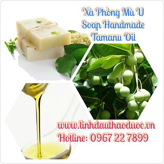 Xà Phòng Handmade: Mù U, Dầu Dừa, Trà Xanh, Mật Ong, Cám Gạo