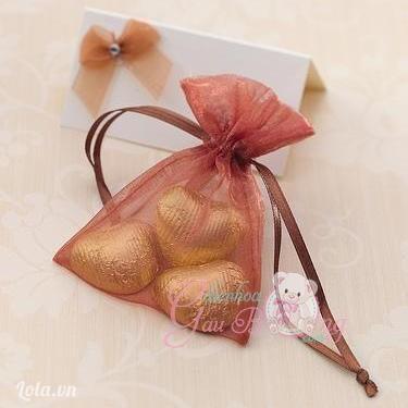 Túi kẹo quà tặng khách mời đám cưới