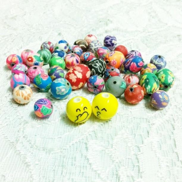 Hạt đất sét Nhật xinh xinh làm vòng tay handmade