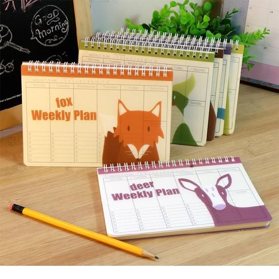 Sổ nhật ký kế hoạch animal 02
