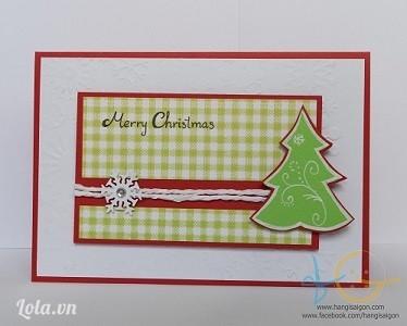 Thiệp giáng sinh handmade 17