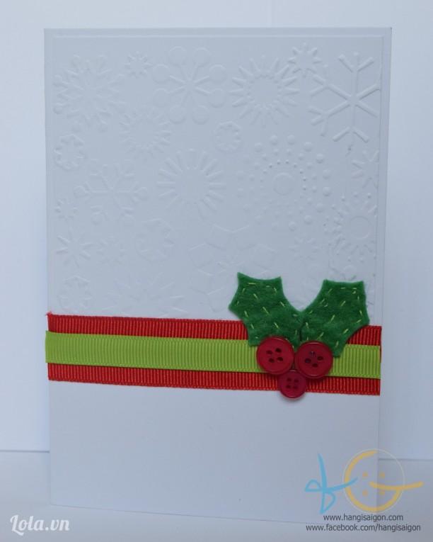 Thiệp giáng sinh handmade 04