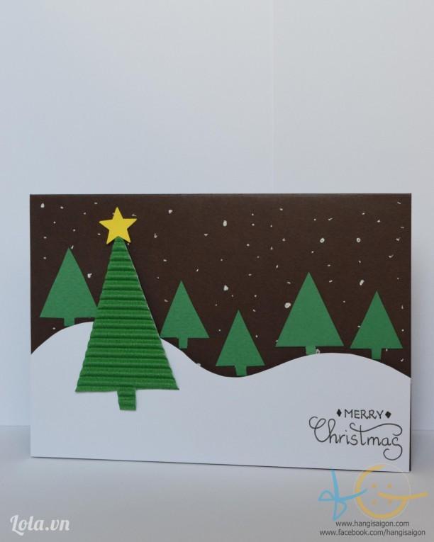 Thiệp giáng sinh handmade 09