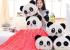 Chăn thú bông Panda ngộ nghĩnh
