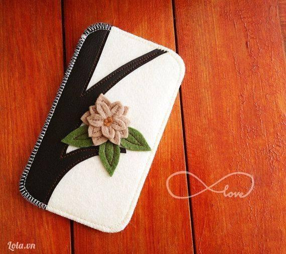 Bóp ví từ vải nỉ đẹp