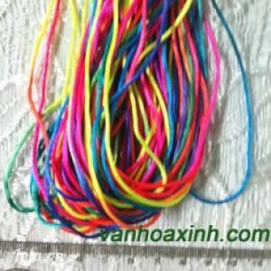 Cuộn 30m dù bóng/ dây tim (bóng mềm) đổi màu 1-2 mm DDN3-65