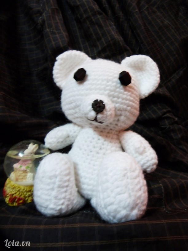 Gấu trắng Kawaiii~
