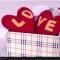 Trái tim đôi từ vải nỉ