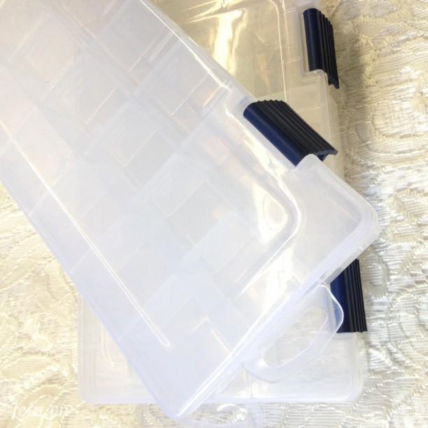 Hộp nhựa đựng trang sức 16 ngăn thay đổi ngăn